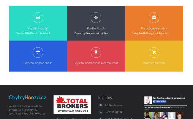 webové stránky na WordPress