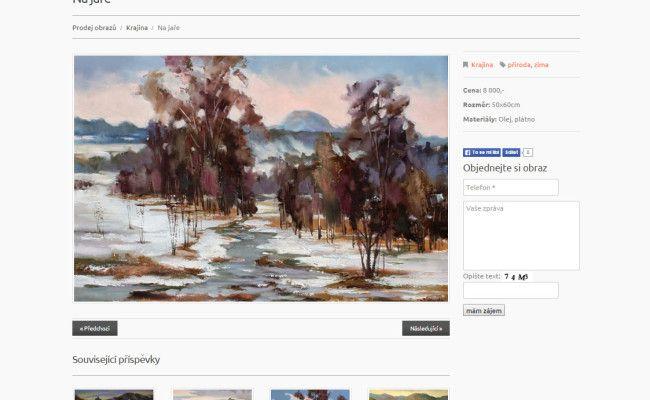 webové stránky malíře Avdějeva