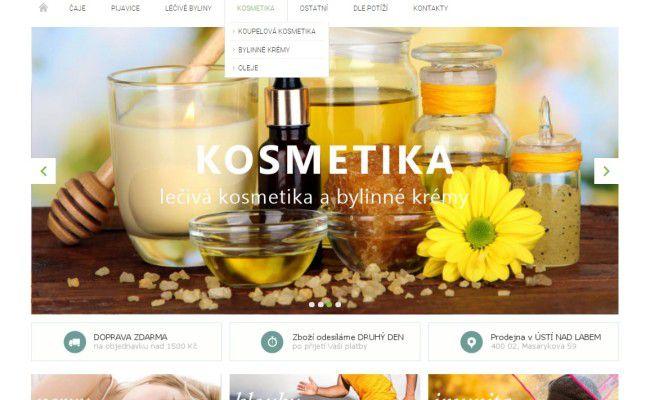 tvorba e-shopu Etnomagic